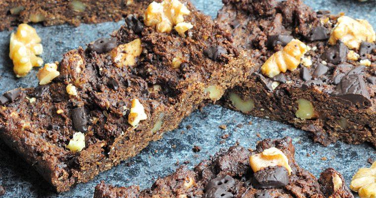 Wegańskie brownie z orzechami włoskimi