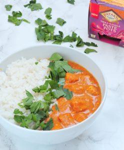 Wegańskie Tikka Masala z Tofu