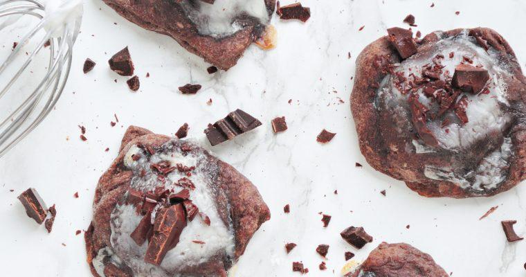 Mini tarty podwójnie czekoladowe