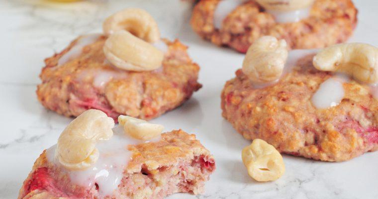 Cytrynowo-truskawkowe ciasteczka
