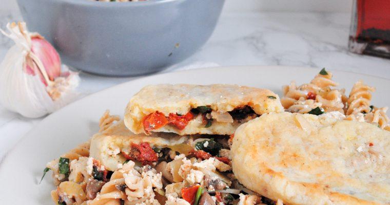 Wegańskie farszynki z tofu