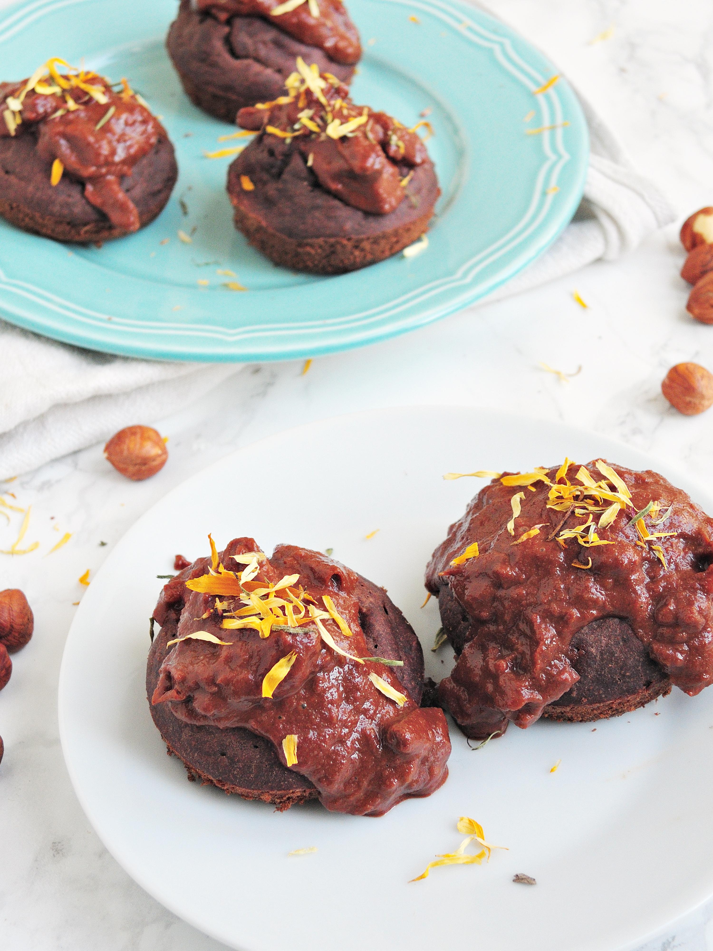 Pomidorowo-czekoladowe muffinki