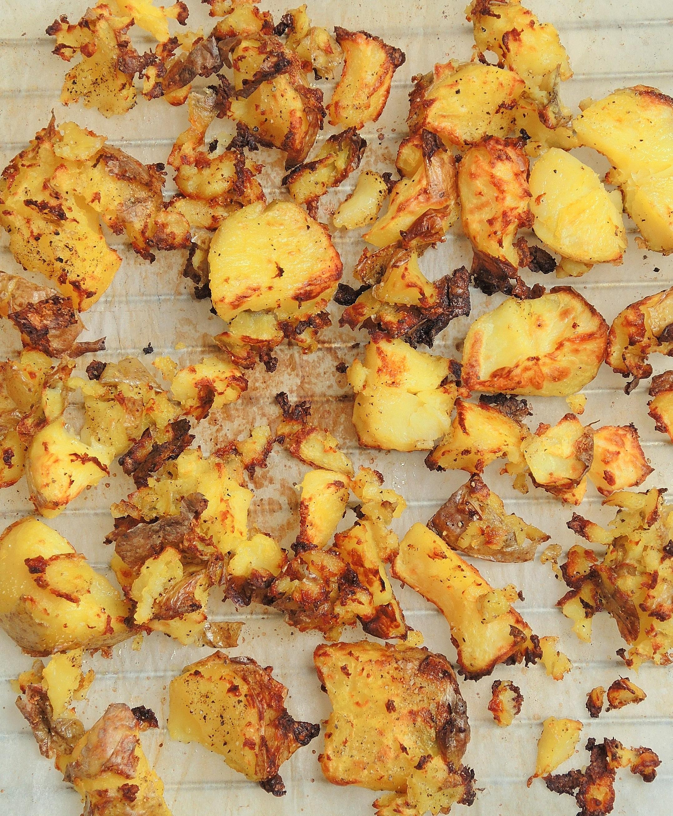 Chrupiące ziemniaczki z piekarnika