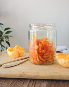 kandyzowana skórka pomarańczy